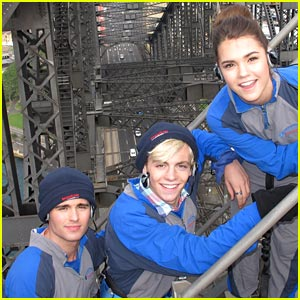 Maia Mitchell & Ross Lynch: Sydney Harbor Bridge Climb!