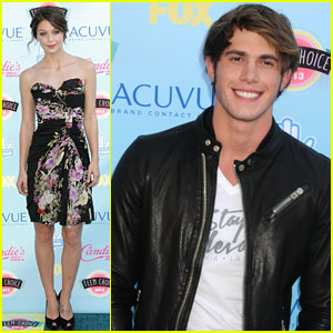 Melissa Benoist & Blake Jenner - Teen Choice Awards 2013