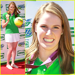 Missy Franklin: Arthur Ashe Kids Day 2013