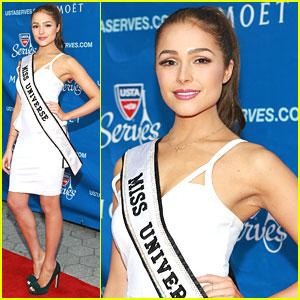 Miss Universe Olivia Culpo: USTA Opening Night Gala 2013
