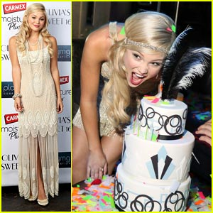 Olivia Holt: Old Hollywood Sweet 16 Party Pics!