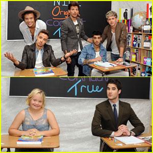 One Direction & Darren Criss: Backstage Creations Celebrity Retreat