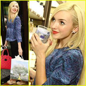 Peyton List: Lovely at L'Occitane! (Exclusive Pics!)