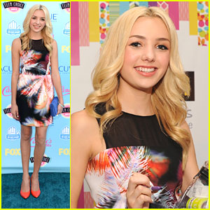 Peyton List - Teen Choice Awards 2013