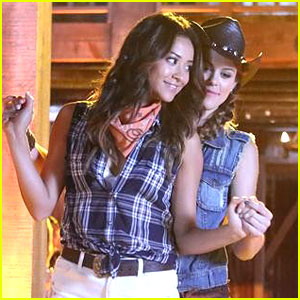 Shay Mitchell & Lindsey Shaw: Do-Si-Do Duo on 'PLL'