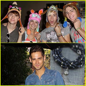 R5 & Jean-Luc Bilodeau: Pre-Teen Choice Awards Gifting Suite!