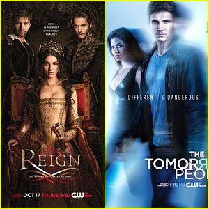 'The Tomorrow People', 'Reign', & 'Originals' Posters Revealed!