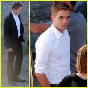 Robert Pattinson: Runyon Canyon Filming with Mia Wasikowska