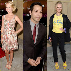 Skylar Astin & Anna Camp: 'Lovelace' Premiere with Juno Temple