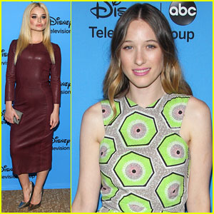 Sophie Lowe & Emma Rigby: TCA's Disney/ABC Party!