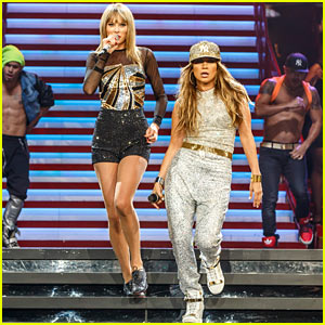 Taylor Swift Performs 'Jenny From the Block' with Jennifer Lopez - Watch Now!