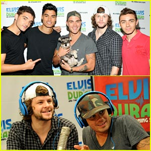 The Wanted: Z100 Studio Stop!