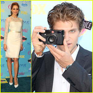 Troian Bellisario & Keegan Allen WIN at Teen Choice Awards 2013