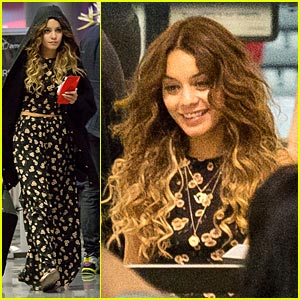 Vanessa Hudgens: Late Night LAX Departure