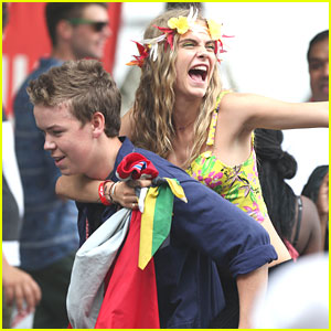 Will Poulter & Cara Delevingne are 'Kids In Love'