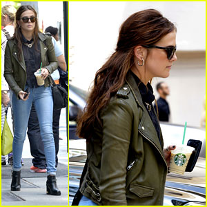 Zoey Deutch: City Starbucks Run