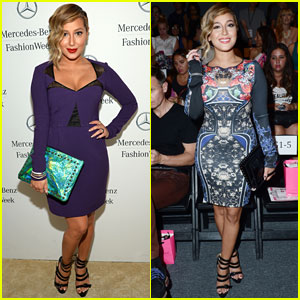 Adrienne Bailon: Betsey Johnson Fashion Show