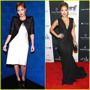 Adrienne Bailon: Icons of Style Gala 2013