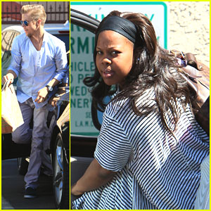 Derek Hough: 'DWTS' Practice After Emmy Win with Amber Riley