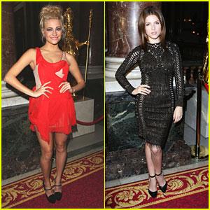 Anna Kendrick & Pixie Lott: Julien Macdonald Show at London Fashion Week