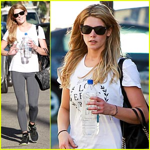 Ashley Greene Steps Out in Studio City