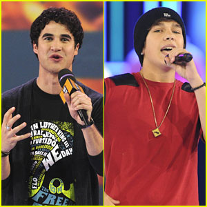 Austin Mahone & Darren Criss: We Day 2013