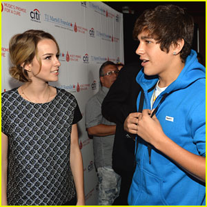 Austin Mahone: TJ Martell Foundation Family Day 2013