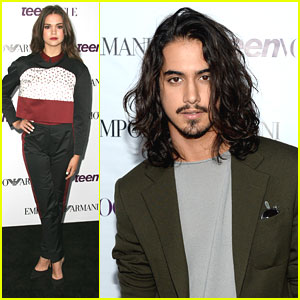 Avan Jogia & Maia Mitchell - Teen Vogue Young Hollywood Party 2013