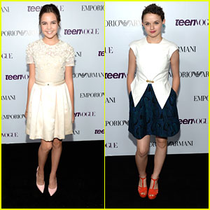 Bailee Madisonn & Joey King - Teen Vogue Young Hollywood Party 2013