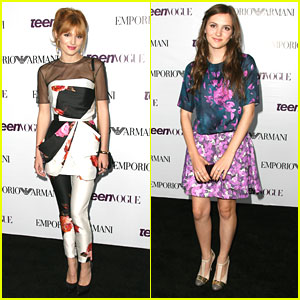 Bella Thorne & Maude Apatow: Teen Vogue Young Hollywood Party 2013
