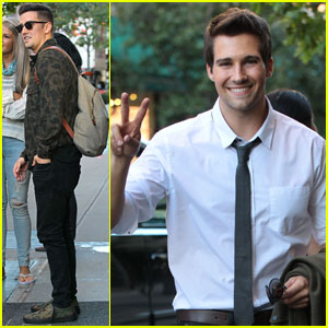 Big Time Rush Steps Out Before Nick's Worldwide Day of Play