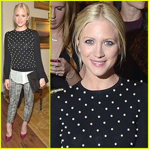 Brittany Snow: Lela Rose Show at NYFW