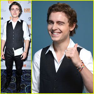 Callan McAuliffe: 'Beneath The Harvest Sky' at TIFF 2013
