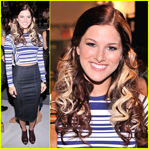 Cassadee Pope: Front Row for Nanette Lepore at NYFW
