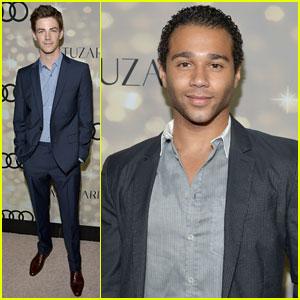 Corbin Bleu & Grant Gustin: Emmys 2013 Kick-Off Party