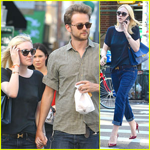 Dakota Fanning: Lunch with Jamie Strachan