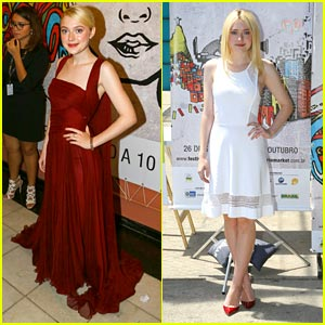 Dakota Fanning: Rio Film Festival Fun!