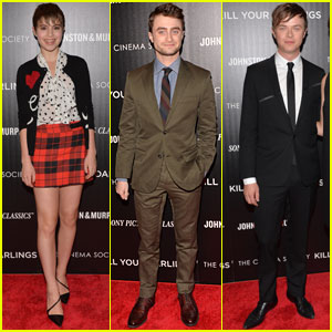 Daniel Radcliffe & Dane DeHaan: 'Kill Your Darlings' NYC Premiere