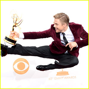 Derek Hough: Emmy Winner for Outstanding Choreography!