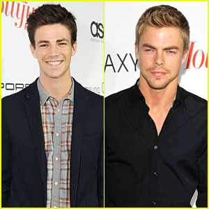 Derek Hough & Grant Gustin: THR's Emmy Party Guys