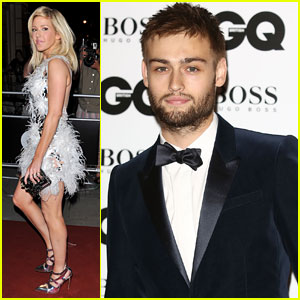 Douglas Booth & Ellie Goulding: GQ Men of the Year Awards 2013