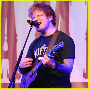 Ed Sheeran: TJ Martell Family Day 2013