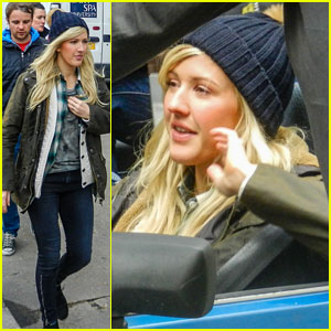 Ellie Goulding: Brick Lane Music Video Shoot