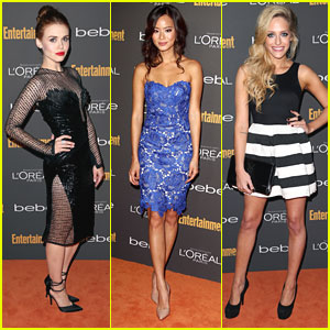 Holland Roden and Jamie Chung: EW's Emmy Party Pretty