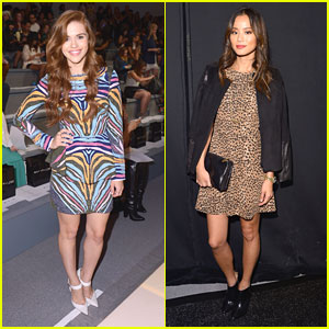 Holland Roden & Jamie Chung: Front Row for Mara Hoffman at NYFW