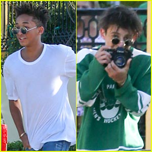 Jaden Smith: Sushi Stop with Moises Arias