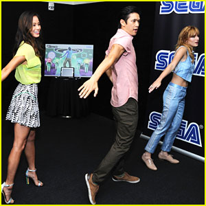 Jamie Chung & Harry Shum, Jr.: Sega Dance Duo