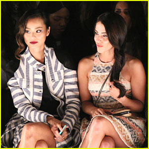 Jamie Chung & Jessica Lowndes: Rebecca Minkoff Runway Show at NYFW