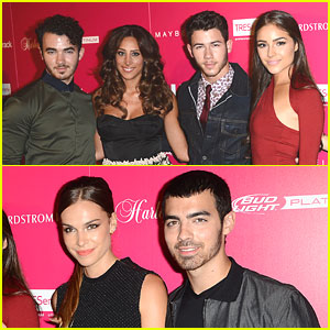 Jonas Brothers Take Girlfriends, Wife To US Weekly Most Stylish New Yorkers Party