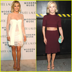 Julianne Hough: Marc Jacobs Fashion Show & Modern Muse Launch Party